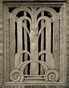 Cool Art Deco design.