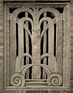 Cool Art Deco design.