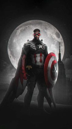 Falcon The New Captain America - IPhone Wallpapers