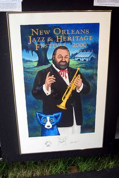 2008 New Orleans Jazz & Heritage Festival - 2000 Jazz Fest Poster by wallyg, via Flickr