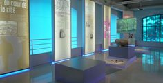 La fabrique créative - Exposition «À boire, à voir» - Conception et réalisation (scénographie et graphisme d'exposition et de communication), au sein du pavillon de l'eau, Paris 16.