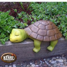 Turtle Turtle Turtle Figure Edge Stool This turtle comes from the production of Kerri ceramics and was lovingly handcrafted. It is an edge stool and Ceramic Turtle, Clay Turtle, Concrete Crafts, Concrete Garden, Concrete Art, Clay Projects, Clay Crafts, Pottery Animals, Tortoise Turtle