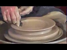 ▶ Pottery Video: Tips for Making Great Plates! with Bill van Gilder - YouTube