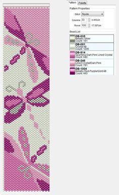 Dragonfly bead pattern... Переделки с комментариями | biser.info - всё о бисере и бисерном творчестве