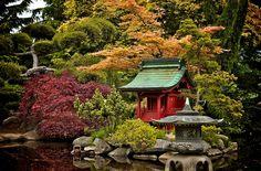 Pagoda, Japanese Garden,   Taken at: Point Defiance Park, Tacoma, WA