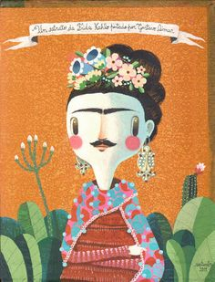 FRIDA KAHLO #illustration #ilustracao