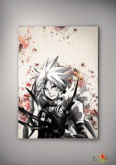 D.Gray-man Anime Manga Watercolor Print Poster Allen Walker Yu Kanda Lenalee Lee Más