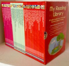 My reading library(red box)