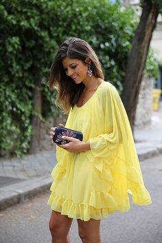 trendy_taste-look-outfit-street_style-ootd-blogger-blog-fashion_spain-moda_españa-yellow_dress-vestido_amarillo-boda-wedding-evento-clutch_p...