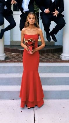 Sexy Red Spaghetti Straps Sheath Prom Dress,Halter Mermaid Party Dress from cutedressy Sexy Red Spaghetti Strap Etuikleid, Neckholder Mermaid Partykleid · cutedressy · Online-Shop Powered by Storenvy Grad Dresses, Mermaid Prom Dresses, Dance Dresses, Ball Dresses, Homecoming Dresses, Sexy Dresses, Elegant Dresses, Classy Prom Dresses, Red Mermaid Dress