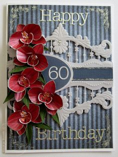 Baukje's Cards and Crafts: More Orchids