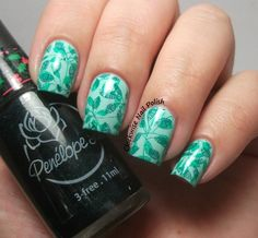 The Clockwise Nail Polish: Uber Chic Beauty 1-02 Stamping Plate Review
