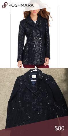 Loft size 0 Coat, amazing coat! Beautiful coat! Used a few times ! Very elegant! Jackets & Coats Pea Coats
