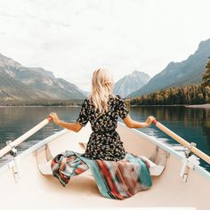 Forever Chasing Adventure by @gypsea_lust on Instagram | Lake MacDonald, Montana