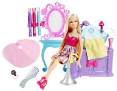 4b25ea97191 Barbie Hairtastic Colour   Wash Salon - 5 Years   Over. Send Barbie Hair  Color N Wash Salon Doll India. Rediff Shopping