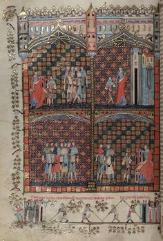 The Romance of Alexander - 1338-1344 Bodleian Library-University of Oxford.