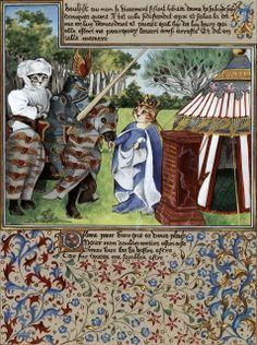 """""""King René le Bon (Cats Medieval)"""" par Susan Herbert"""