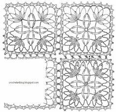 Stitch unit crochet pattern blanket
