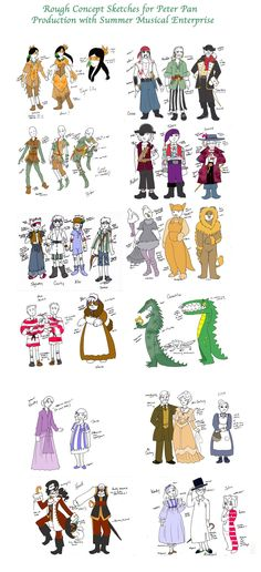 Peter Pan costumes by hermitchild on deviantART                                                                                                                                                                                 More