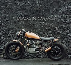TADAOCERN CAFERACER on Behance .Well some say cafe some say bober