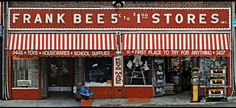 Store Front: The Disappearing Face of New York by James and Karla Murray 'During the eight years it took James and Karla Murray to complete this project, one third of the stores they featured have closed' Vintage Type, Vintage Signs, Shop Facade, Exterior Signage, New York Pictures, Shop Fronts, Nyc, Toy Store, House Painting