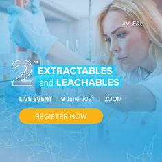 In the course of this 2nd E&L Live Event, we will explore the guideline updates, analytical testing innovations, and the impact of Extractables and Leachables (E&L) on biologics safety. Let's address the current E&L challenges with experienced pharmaceutical professionals who will share their in-depth knowledge on various topics. Learn how to manage your E&L strategy and analyze testing techniques. Testing Techniques, University Of Vienna, Cross Functional Team, Technical University, Material Science, Center Of Excellence, Organic Chemistry, Team Leader, Live Events