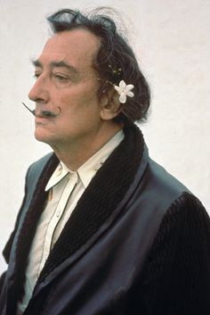 Salvador Dalí ... he adored his mother, worshiped his wife for 53 years and liked to be silly.  I think he would have been fun to know.