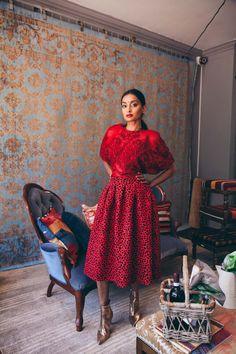 How to wear Red on Red Ethnic Fusion Ethnic Fusion Saree Fashion Vintage Chic Kimono Streetwear Styling Photoshoot Saree Fashion, Wear Red, Saree Styles, Fashion Vintage, Streetwear Fashion, Ethnic, Street Wear, Kimono, Photoshoot