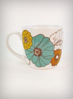 retro carmen ceramic mug #plasticland #mug pretty