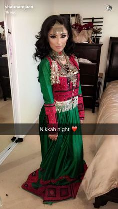 @s_hossine 's Nikkah dress ❤️ #shoseine #afghan #nikkah #love #afghanistan #beauty #islamicwedding