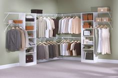 Incroyable Top Shelf Closets U0026 Glass   Custom Closet Organizers   Wire And Euro  Combination
