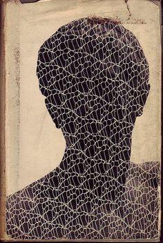 ulien gracq, a dark stranger, 1951, cover by Gertrude Huston    julien gracq, RIP 2007.
