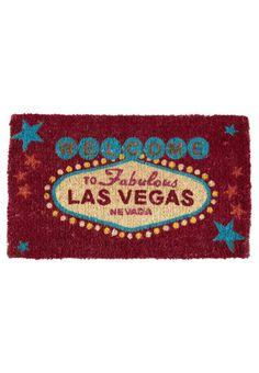 Giftcompany - LAS VEGAS - Felpudo - rojo Las Vegas, House, Decor, Red, Decoration, Home, Last Vegas, Decorating, Homes
