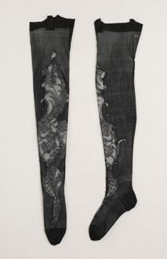 Stockings, 1900-1910