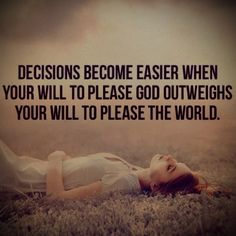 Decisions become easier