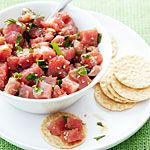 Tuna Poke Recipe | MyRecipes.com
