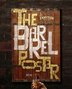 """A F.bizemplacou peças, criadas para Jameson Irish Whiskey (da Pernod Ricard), na edição de novembro/dezembro daArchive. Foram selecionados quatro pôsteres da campanha """"It was a Barrel"""", todos criados pelo artista plástico Mario Niveo a partir da madeira do barril do uísque, trazido diretamente da destilaria da Jameson, localizada em Midleton, na Irlanda. Também foi escolhida a ação """"The Barrel Poster"""", queconsiste na montagem de um pôster de madeira em formato de barril. Abastecida com o ..."""