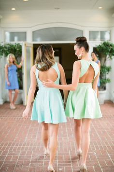 A special moment shared between sisters during recruitment for Shark tank wedding dress