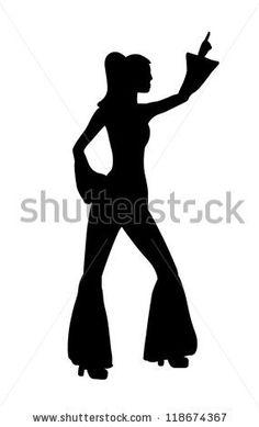 1970s dancing silhouette - Google Search