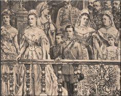 Коронация императора Александра III, 1883 г., художник Беккер Жорж, деталь (The coronation of Tsar Alexander III, 1883)