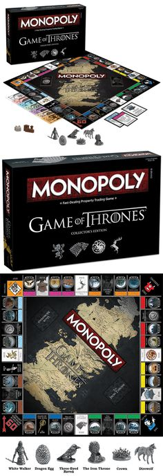 Contemporary Manufacture 180349: Game Of Thrones™ Collector S Edition Monopoly Age 18+ Usaopoly -> BUY IT NOW ONLY: $38.97 on eBay!