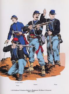 The union army was involved in this battle.