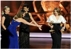 NEWS: MERRIT WEVER wins EMMY, Styled by ALEXANDRA NEW YORK | shopalexandranewyork #merritwever #emmys2013