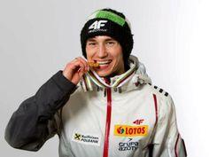 Kamil Stoch, Polish ski jumper. World champion 2013, two golden medals on winter olympics 2014!