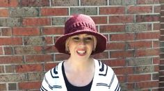 Calleigh's Clips and Crochet Creations V-LOG- Marsala Hat