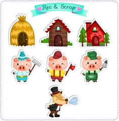 The Three Little Pigs - Digital Kit