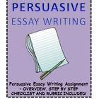 teaching persuasive essay writing high school
