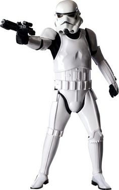 This authentic Stormtrooper costume is a high quality movie replica from Star Wars. Complete your Star Wars group costume with this authentic Stormtrooper costume for adults. Stormtrooper Helm, Star Wars Stormtrooper Costume, Costume Star Wars, Darth Vader, Star Wars Trajes, Adult Costumes, Halloween Costumes, Adult Halloween, Halloween Ideas