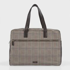 Prince Of Wales Check Franklin Holdall ++ Paul Smith