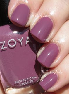 The PolishAholic: Zoya Naturel Collection Swatches: Odette